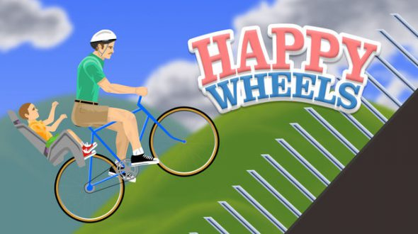 Happy Wheels: Rasantes Kultgame mit schwarzem Humor